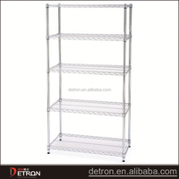 High strength metal greenhouse display shelving