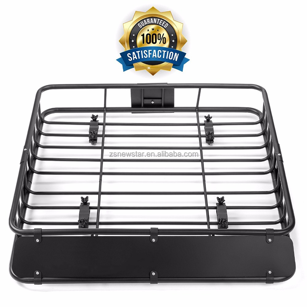 Universal steel car roof luggage rack/cargo roof rack carrier for SUV