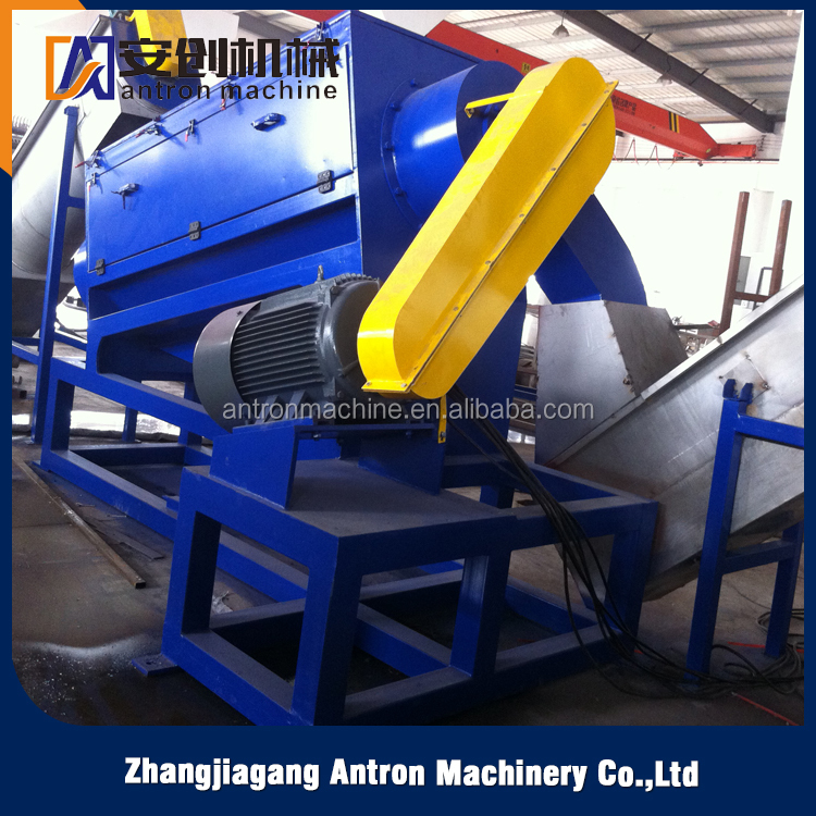 Plastic bags recycling machines\Hot sale China supplier custom professional pp pe film washing line