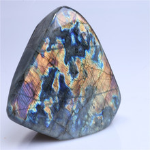 Natural polished Labradorite stone for gift labradorite rough For Sale