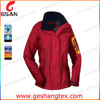 mens waterproof hiking interlock outdoor jackets