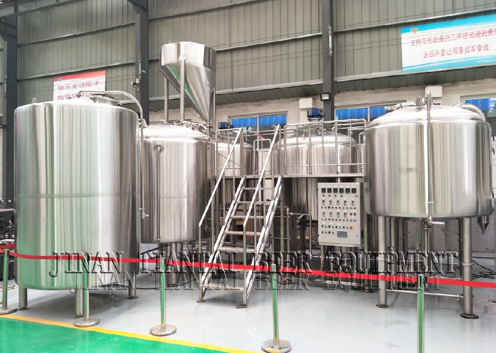 All grain turnkey automatic brewery electric herms used micro 10bbl 15bbl 20bbl 30 barrel beer brewing system for sale
