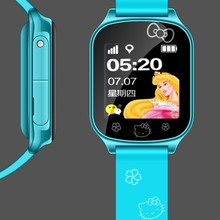 customizable polar watch for running T58 Blue cute supports SIM card
