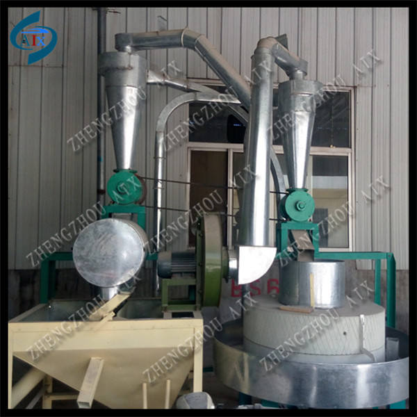 Traditional method stone flour grinder/stone flour mill/wheat flour mill for home use