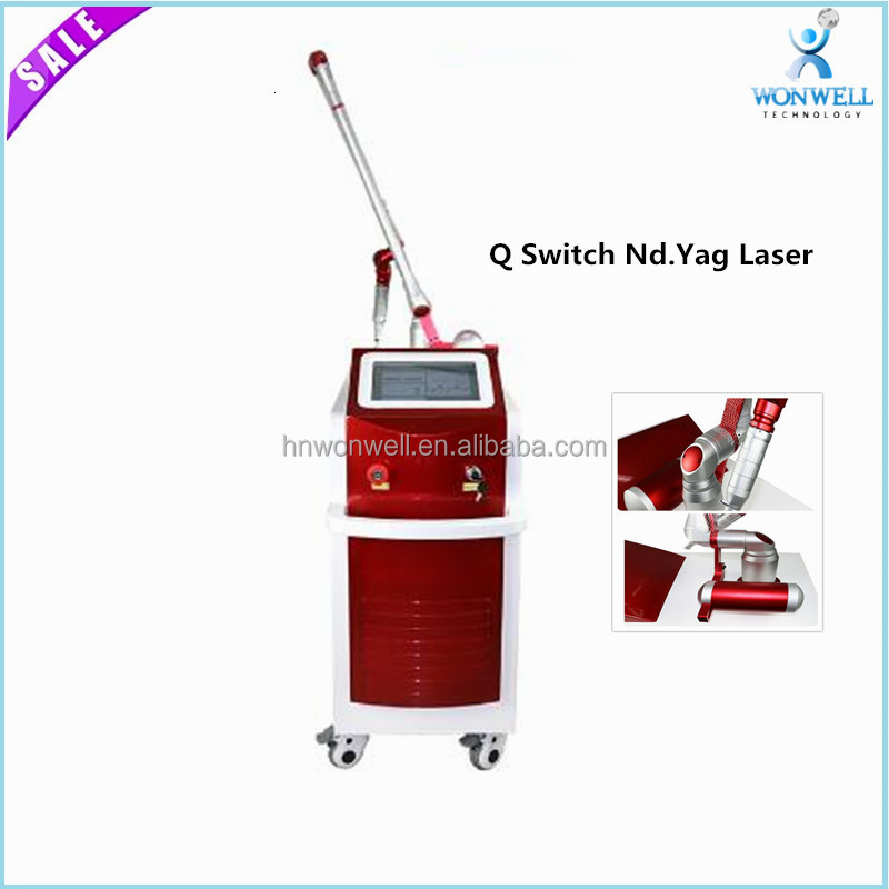 Q-switch tattoo removal and skin rejuvenation ND.YAG laser