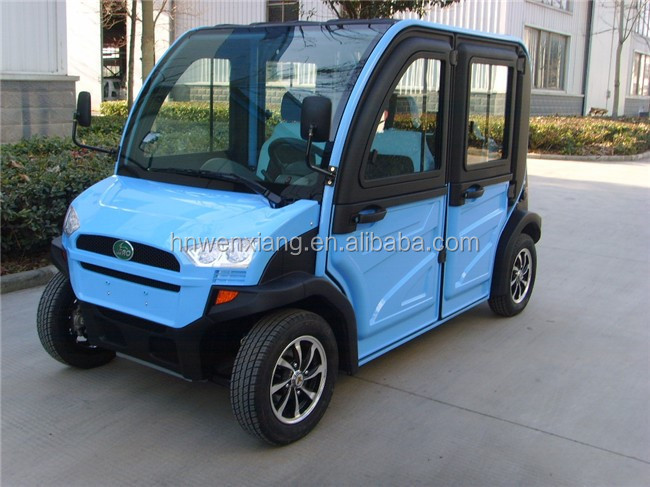 2016 China 4x4 electric car without driving licence