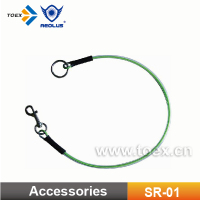 Strong Dog Tie Out PVC Coated Galvanized Steel Wire Rope / Dog Steel Rope/Dog Leash