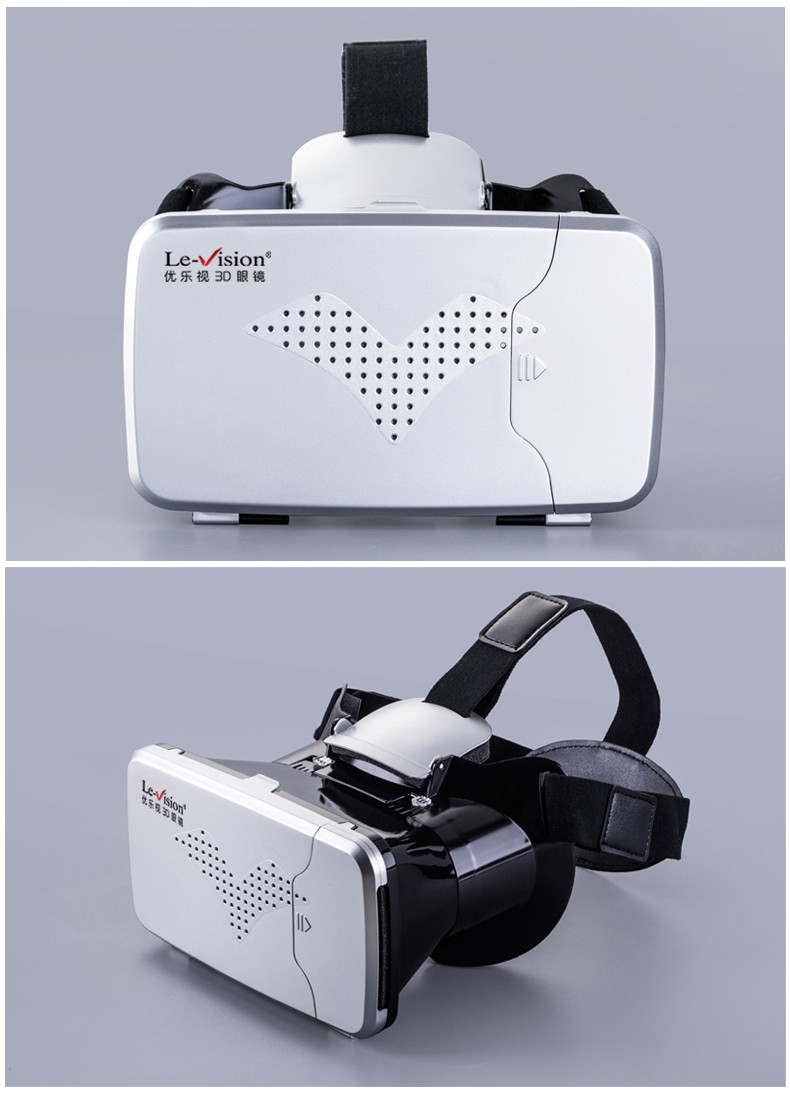 Le-Vision virtual reality glasses 3D VR glasses 3D VR headband VR headsets LSVR-01
