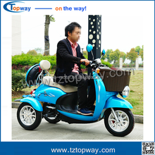 2017 new safe design 10 inch 72v adult 3 wheel electric bicycle/tricycl from china