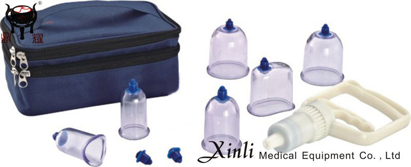 Durable easy home use cupping kit Therapy Machine hijama set