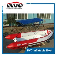 China fishing pvc inflatable racing boat
