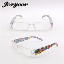 Fashionable Round frames style PC reading glasses with metal bridge Made in China Manufacturer