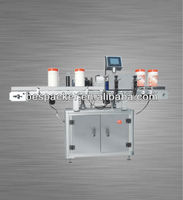 Shrink wrap labeling machine