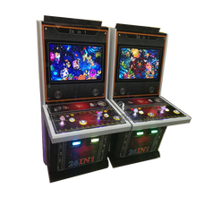 English Language 26 in 1 video fish game two players 22inch screen mini skilled fish game machine