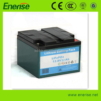 12V 30Ah 4S10P-26650 Lifepo4 Lithium Rechargeable Battery Pack for Electric Equipments ,Golf Trolley,UPS