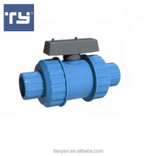 China manufacturer High quality UPVC 2 inch TRUE UNION BALL VALVE pvc ball valve