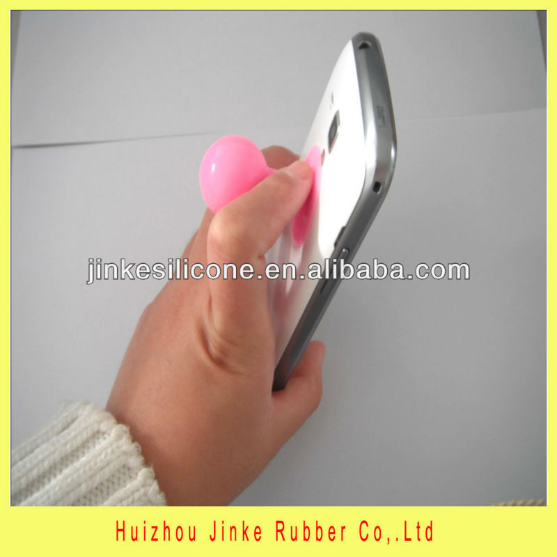 2013 rohs silicone acetabula accessories,for iphone 4/4s or 5 accessories