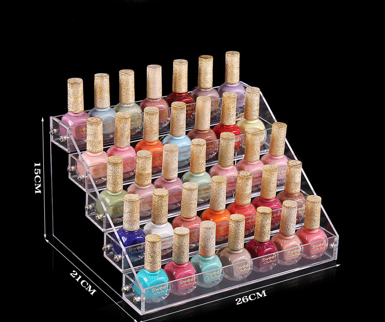 acrylic nail polish display