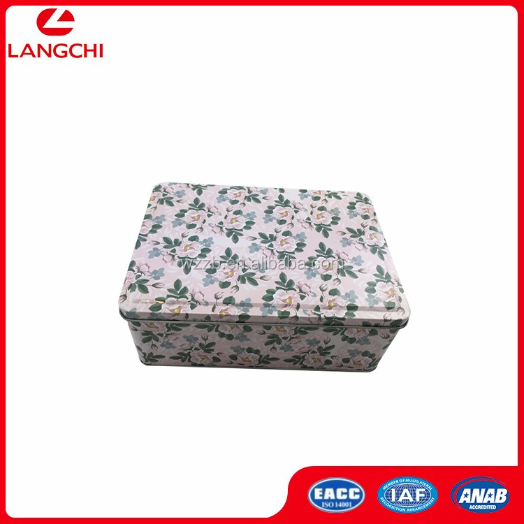 Chocolate packaging tin box with plastic insert Chocolate Packaging Tin Box With Plastic Insert