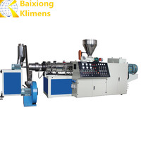 Baixiong Klimens waste plastic recycling machine/PP PE film pelletizing line/granulating machine