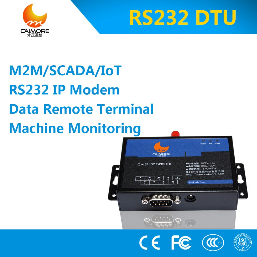 CDMA Modem with Serial RS232 3g router models industrial dtu