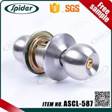 Cylindrical Lock Set Doorknob entrance door handle lock luxury door lock with handle