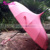 Windproof Pagoda Long Umbrella Plain UV Sun Rain Or Sunshade Umbrella Parasol