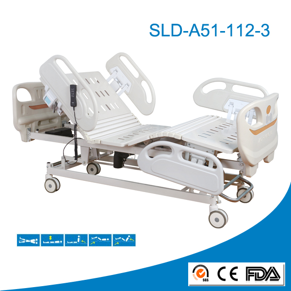 Remote Control Hospital Bed Electric Motor Hospital Bed