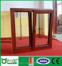 Home Design Double Glass Aluminum Tilt Turn Windows By PNOC Factory