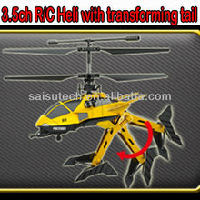 toy helicopters for sale rc helicopter china 3.5ch remote control helicopter toy with transforming tail D-01