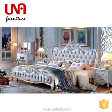French style kids furniture girls white bedroom furniture adult pricess bedroom furniture set