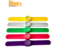Colorful slap wrist watch,promotional Slap silicone watch,silicone watch