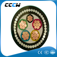 Low voltage 4 core underground armoured cable 4 core copper xlpe power cable 150mm