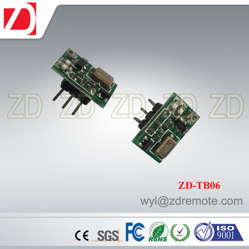 ZD-TB06 smallest size 433MHZ 315MHZ long working range RF wireless transmitter module