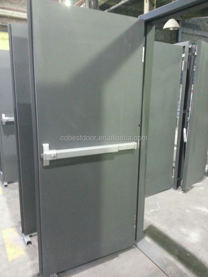 UL listed 3 hours fire rated steel door BT1N2000GW