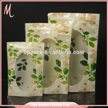 Yiwu factory whoesale zip lock window recyclable vacuum sealing bags.food boiling plastic bag