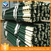 Supply high quality t post galvanized fence post extension in farm fence