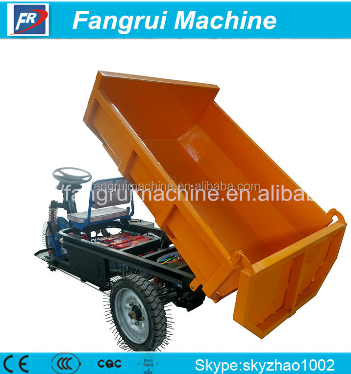 new generation three wheel tricycle for cargo dust cart electric