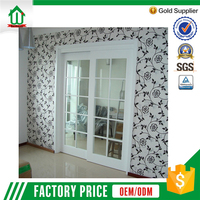 Hui Wanjia good quality plastic sliding bathroom door