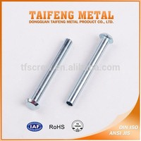 cheap price galvanized steel flat head solid rivet