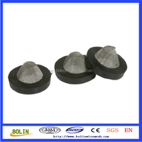 seals stainless steel rubber washer filter screen / stainless steel rubber washer filter