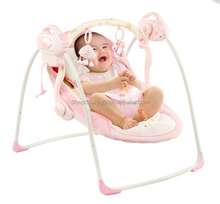 Low MOQ baby bouncer, multifunctional electric swing baby chair