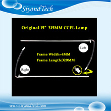 "Original New Total 320MM*4MM CCFL Lamp CCFL Tube Code Cathode Fluorescent With Lamp Frame For 15"" LCD Screen"