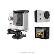 2016 New Factory 2 inch WiFi 170 degree 4K Action Cam 24fps Private 4K Camera sport Camera wifi action Camera Unique design