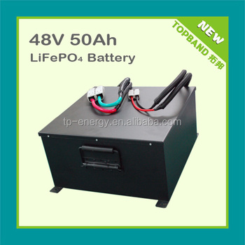 NEW 48V 50AH storage battery with lifepo4 technology