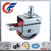 8 inch brake swivel stem heavy duty scaffolding caster wheels
