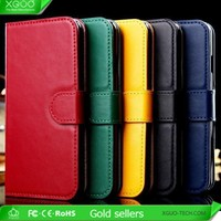 for genuine leather iphone 6 plus wallet case