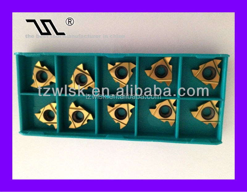thread inserts for aluminium for cnc turning tools