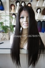 invisible hairline bleached knots human hair 150% density full lace wig