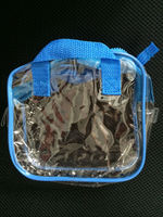 China alibaba various shape PVC clear bag with zipper ,with OEM and ODM service